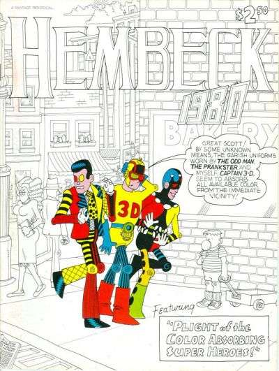 Hembeck 1980 #1 comic books for sale