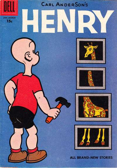 Henry #53 comic books for sale