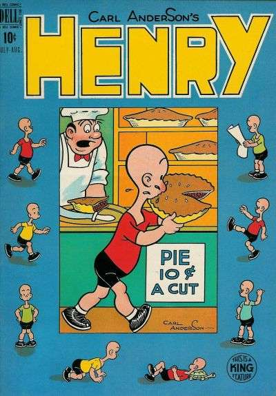 Henry #8 comic books for sale