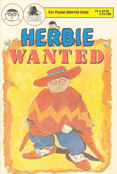 Herbie #4 comic books - cover scans photos Herbie #4 comic books - covers, picture gallery