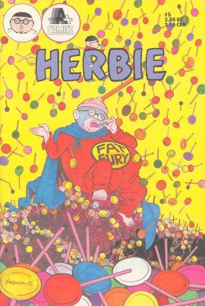 Herbie #5 Comic Books - Covers, Scans, Photos  in Herbie Comic Books - Covers, Scans, Gallery