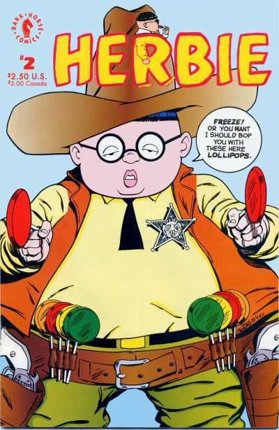 Herbie #2 Comic Books - Covers, Scans, Photos  in Herbie Comic Books - Covers, Scans, Gallery