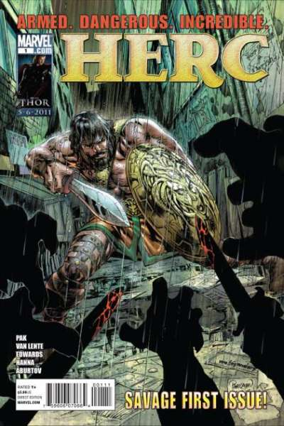 Herc #1 comic books - cover scans photos Herc #1 comic books - covers, picture gallery