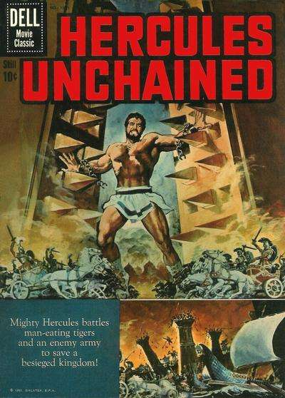 Hercules Unchained Comic Books. Hercules Unchained Comics.