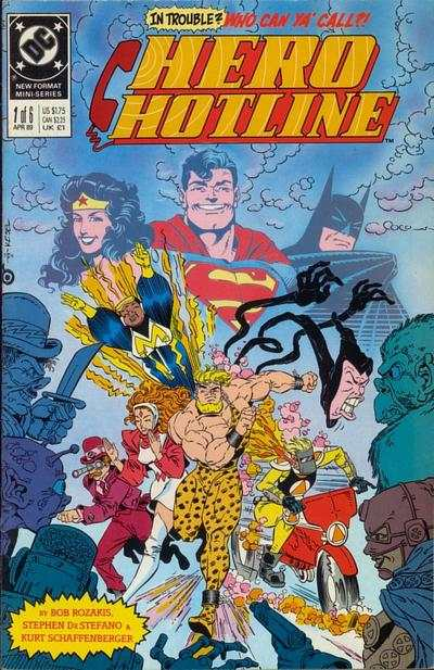 Hero Hotline #1 comic books - cover scans photos Hero Hotline #1 comic books - covers, picture gallery