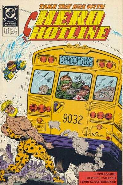 Hero Hotline #2 comic books - cover scans photos Hero Hotline #2 comic books - covers, picture gallery