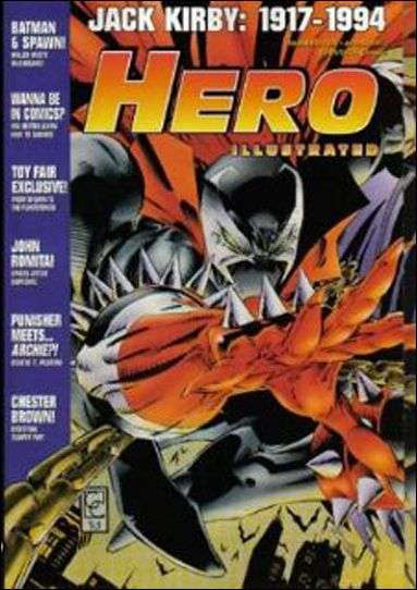 Hero Illustrated #10 comic books - cover scans photos Hero Illustrated #10 comic books - covers, picture gallery