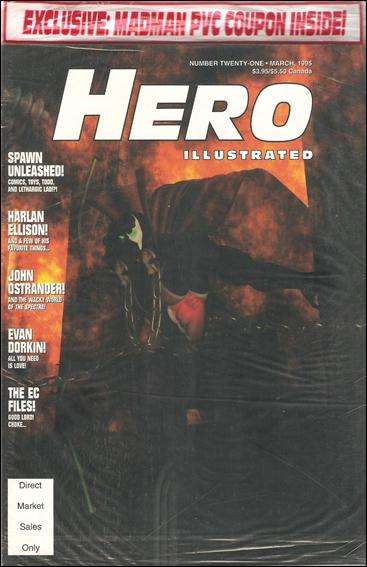 Hero Illustrated #21 comic books - cover scans photos Hero Illustrated #21 comic books - covers, picture gallery