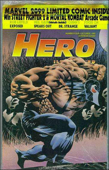 Hero Illustrated #4 comic books - cover scans photos Hero Illustrated #4 comic books - covers, picture gallery