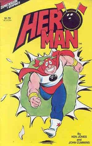 Hero Man #1 comic books for sale
