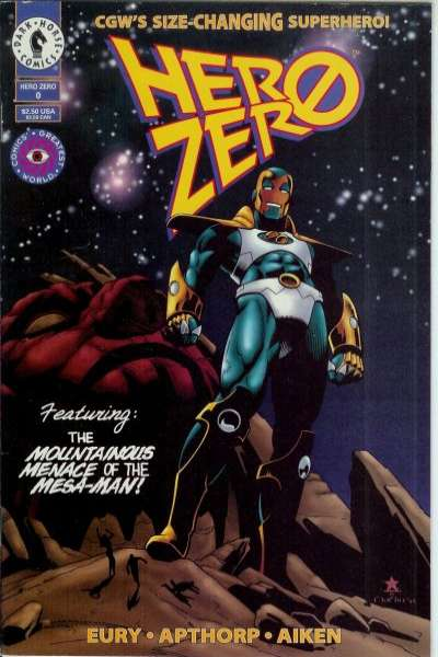 Hero Zero #0 cheap bargain discounted comic books Hero Zero #0 comic books