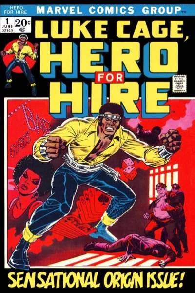 Hero for Hire comic books
