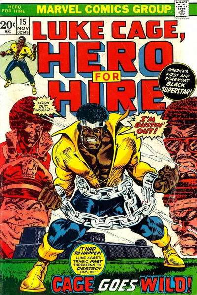 Hero for Hire #15 comic books for sale