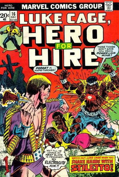 Hero for Hire #16 comic books for sale