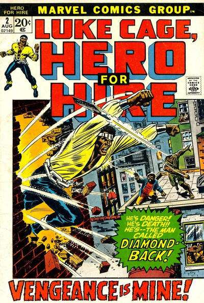 Hero for Hire #2 comic books for sale