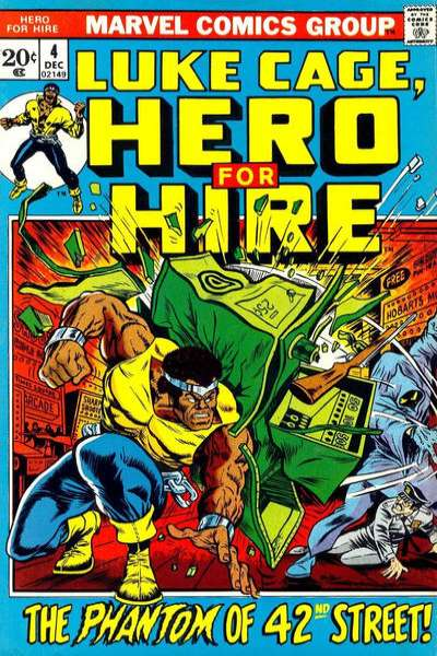 Hero for Hire #4 comic books for sale