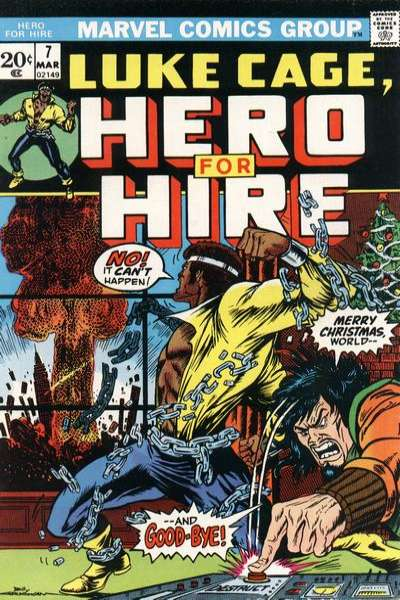 Hero for Hire #7 comic books for sale