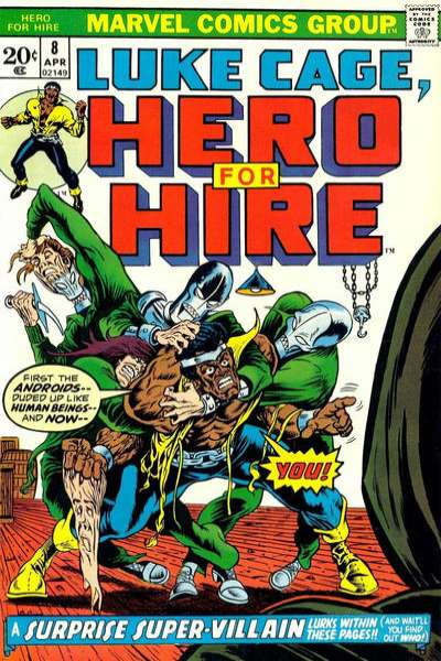 Hero for Hire #8 comic books for sale