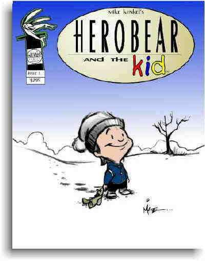 Herobear and the Kid: The Inheritance #1 comic books - cover scans photos Herobear and the Kid: The Inheritance #1 comic books - covers, picture gallery