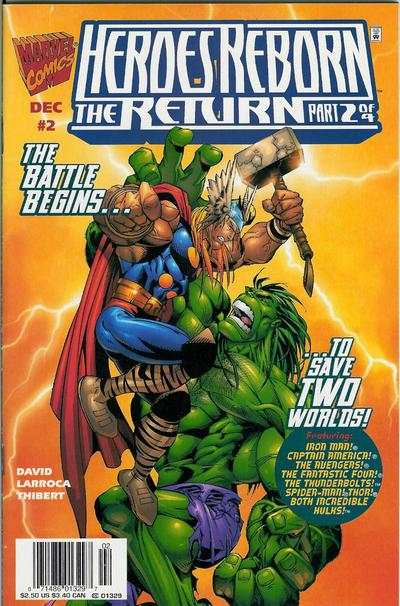 Heroes Reborn #2 comic books for sale