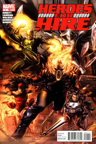 Heroes for Hire comic books