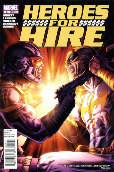 Heroes for Hire #3 Comic Books - Covers, Scans, Photos  in Heroes for Hire Comic Books - Covers, Scans, Gallery