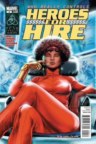 Heroes for Hire #4 comic books - cover scans photos Heroes for Hire #4 comic books - covers, picture gallery