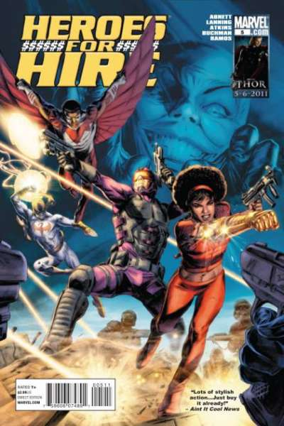 Heroes for Hire #5 comic books - cover scans photos Heroes for Hire #5 comic books - covers, picture gallery