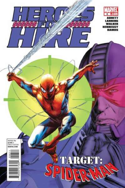 Heroes for Hire #6 comic books - cover scans photos Heroes for Hire #6 comic books - covers, picture gallery