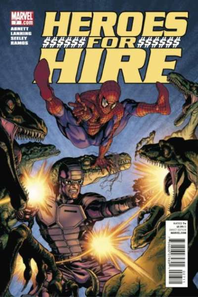 Heroes for Hire #7 comic books - cover scans photos Heroes for Hire #7 comic books - covers, picture gallery