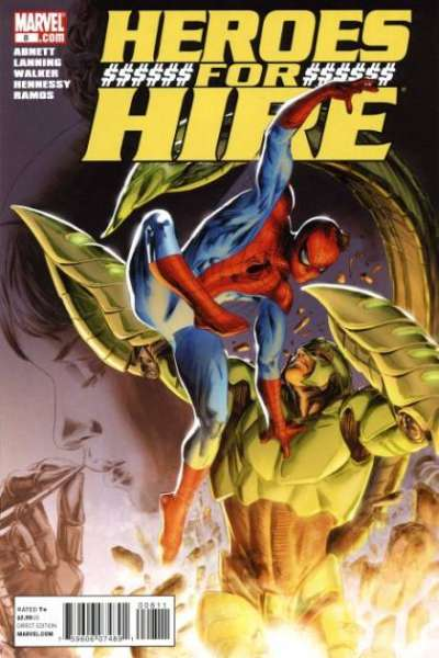 Heroes for Hire #8 comic books - cover scans photos Heroes for Hire #8 comic books - covers, picture gallery
