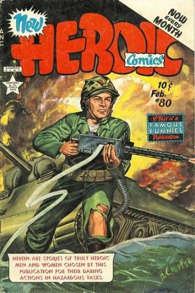 Heroic Comics #80 comic books for sale