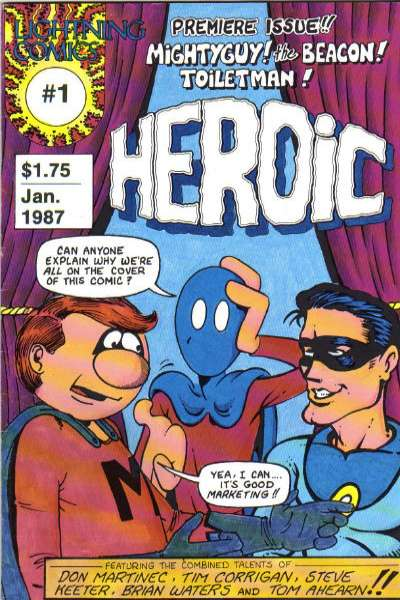 Heroic #1 Comic Books - Covers, Scans, Photos  in Heroic Comic Books - Covers, Scans, Gallery