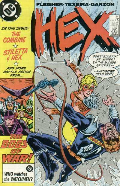 Hex #14 Comic Books - Covers, Scans, Photos  in Hex Comic Books - Covers, Scans, Gallery