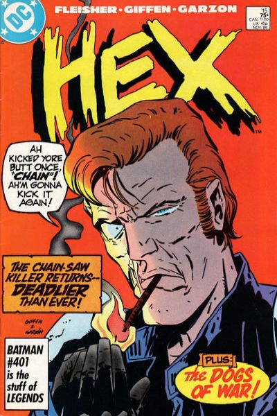 Hex #15 comic books for sale