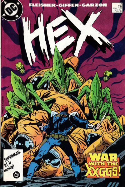 Hex #17 comic books for sale