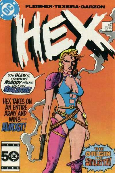 Hex #6 comic books for sale