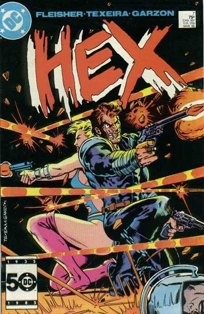 Hex #7 Comic Books - Covers, Scans, Photos  in Hex Comic Books - Covers, Scans, Gallery