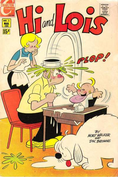 Hi and Lois #3 Comic Books - Covers, Scans, Photos  in Hi and Lois Comic Books - Covers, Scans, Gallery