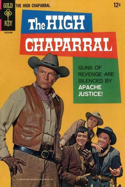 High Chaparral Comic Books. High Chaparral Comics.