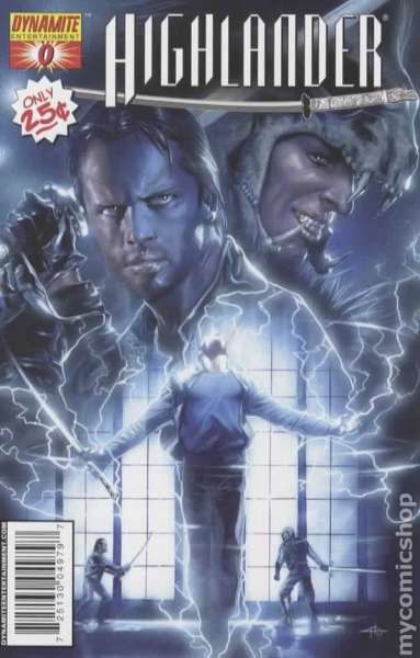 Highlander #0 comic books - cover scans photos Highlander #0 comic books - covers, picture gallery