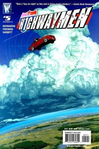Highwaymen #5 comic books - cover scans photos Highwaymen #5 comic books - covers, picture gallery