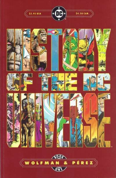 History of the DC Universe # comic book complete sets History of the DC Universe # comic books