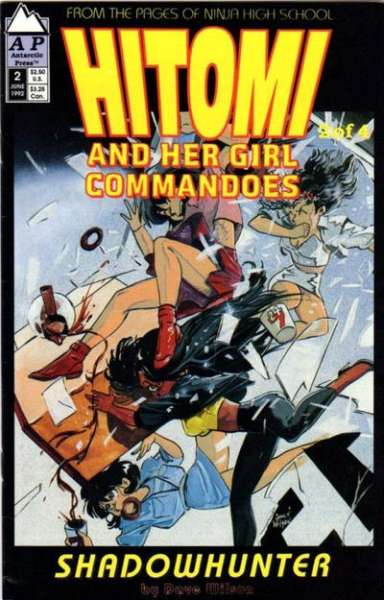 Hitomi and her Girl Commandos #2 comic books - cover scans photos Hitomi and her Girl Commandos #2 comic books - covers, picture gallery