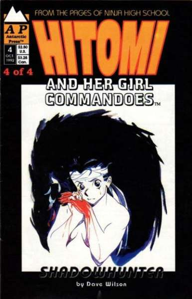 Hitomi and her Girl Commandos #4 comic books for sale
