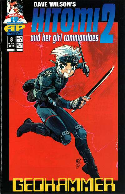 Hitomi and her Girl Commandos #8 comic books for sale