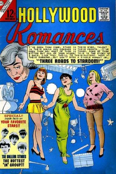 Hollywood Romances Comic Books. Hollywood Romances Comics.
