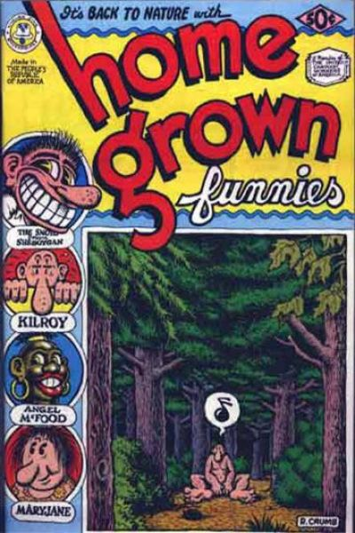 Home Grown Funnies #1 comic books - cover scans photos Home Grown Funnies #1 comic books - covers, picture gallery