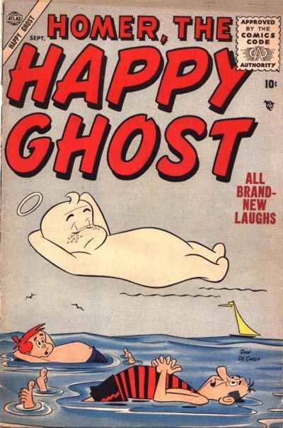 Homer The Happy Ghost #4 Comic Books - Covers, Scans, Photos  in Homer The Happy Ghost Comic Books - Covers, Scans, Gallery