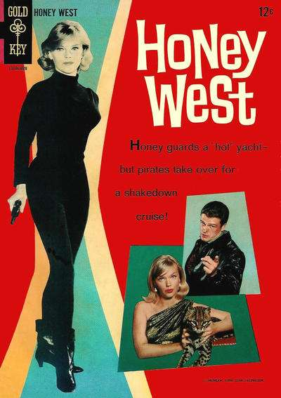 Honey West Comic Books. Honey West Comics.